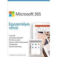 Irodai szoftver Microsoft 365 Egyszemélyes verzió (elektronikus licenc)