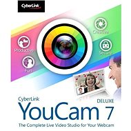 Cyberlink YouCam 7 Deluxe (elektronikus licenc) - Irodai szoftver