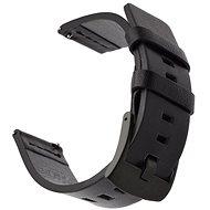 Tactical bőrszíj Huawei Watch GT okosórához - fekete (EU Blister) - Szíj