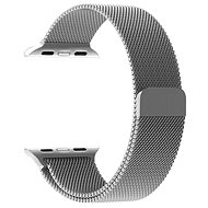 Tactical Loop mágneses fémszíj Apple Watch 1/2/3 38mm okosórához - ezüst - Szíj