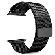 Tactical Loop mágneses fémszíj Apple Watch 1/2/3 42mm okosórához - fekete - Szíj