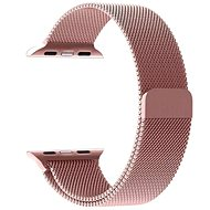 Tactical Loop mágneses fémszíj Apple Watch 1/2/3 42mm okosórához - rózsaarany - Szíj