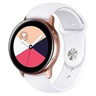 Tactical szilikon szíj Samsung Galaxy Watch Active okosórához - fehér (EU Blister) - Szíj