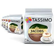 TASSIMO Jacobs Cappuccino Kávékapszula KARTON 40 adag - Kávékapszula