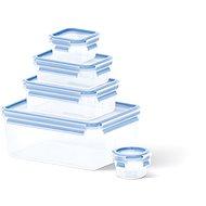 Tefal dobozok 5 db: 0,15 l / 0,25 l / 0,55 l / 1,0 l / 3,7 l MASTER SEAL FRESH négyszögletes - Ételtartó szett