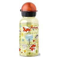 TEFAL KIDS tritan palack 0.4 l sárga-róka - Ivó palack