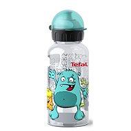 TEFAL KIDS tritan palack 0.4 l türkiz-sörnyecske - Ivó palack