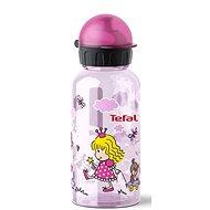 TEFAL KIDS tritan palack 0.4 l rózsaszín-hercegnő - Ivó palack