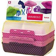 TEFAL VARIOBOLO CLIPBOX 2db színes ételtartó doboz - lányos - Ételtartó szett
