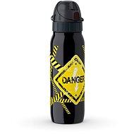 Tefal Vákuumos rozsdamentes acél palack 0,5l ISO2GO fekete danger mintával K3182212 - Kulacs