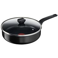 Tefal mély serpenyő 24 cm + fedő Simply Clean B5673253 - Serpenyő