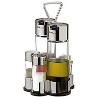 TESCOMA CLUB olaj-, ecet-, só-, bors- és fogvájótartó készlet