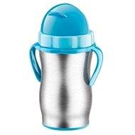 Tescoma BAMBINI baba termosz szívószállal 300 ml kék - Termosz