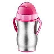 Tescoma BAMBINI baba termosz szívószállal 300 ml rózsaszín - Termosz