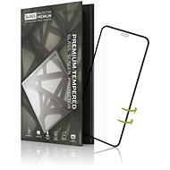 Tempered Glass Protector 3D Case Friendly iPhone X/XS készülékhez fekete - Képernyővédő
