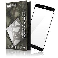 Tempered Glass Protector Huawei Mate 10 Lite fekete készülékhez keretes - Képernyővédő