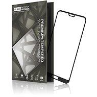 Edzett üvegvédő keret Huawei P20 Lite feketehez - Képernyővédő