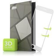 Tempered Glass Protector az iPhone 7 / iPhone 8/ iPhone SE 2020 mobiltelefonhoz - 3D GLASS, fehér - Képernyővédő