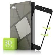 Tempered Glass Protector az iPhone 7 / iPhone 8 / iPhone SE 2020 mobiltelefonhoz - 3D GLASS, fekete - Képernyővédő