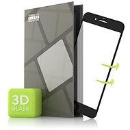 Tempered Glass Protector az iPhone 7+/iPhone 8+ mobiltelefonhoz - 3D GLASS, fekete - Képernyővédő