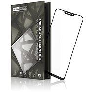 Tempered Glass Protector keretes, ASUS Zenfone 5 ZE620KL készülékhez, fekete - Képernyővédő
