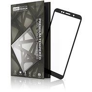 Tempered Glass Protector Honor 7S készülékhez, keretes - fekete - Képernyővédő