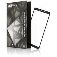 Tempered Glass Protector keretes Xiaomi Redmi 6/6A készülékhez fekete - Képernyővédő
