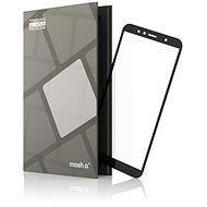 Tempered Glass Protector Honor 7A készülékhez, keretes - fekete - Képernyővédő