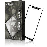 Tempered Glass Protector Motorola One készülékhez, keretes fekete - Képernyővédő