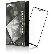 Tempered Glass Protector Honor 8X / 9X Lite készülékhez keretes fekete - Képernyővédő