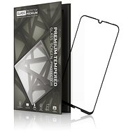 Tempered Glass Protector keretes, Honor 10 Lite készülékhez, fekete - Képernyővédő