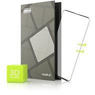 Edzett üvegvédő keret a Motorola Edge / Edge + -hez - 3D ÜVEG, fekete - Képernyővédő