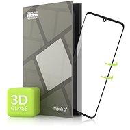 Tempered Glass Protector LG Velvet-hez, 3D GLASS, fekete - Képernyővédő