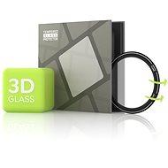 Edzett üvegvédő fólia a Xiaomi Mi Watchhoz - 3D ÜVEG, fekete - Képernyővédő