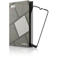 Tempered Glass Protector az LG Q60 tíspuhoz, keretes, fekete - Képernyővédő
