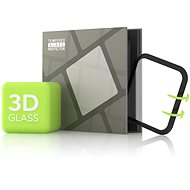 Edzett üveg képernyővédő fólia Apple Watch 5 44 mm készülékekhez - 3D GLASS, fekete - Képernyővédő