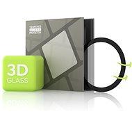 Edzett üveg képernyővédő fólia Samsung Galaxy Watch Active 2 40mm - 3D GLASS, fekete - Képernyővédő