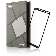 Tempered Glass Protector (keretes) Nokia 3.1 Plus készülékhez, fekete - Képernyővédő