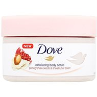DOVE Pomegranate Seeds & Shea Butter Scent Body Scrub 225 ml - Hámlasztó