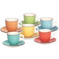 Tognana 6 csésze és csészealj 250ml LOUISE ART&PEPPER - Csésze + csészealj