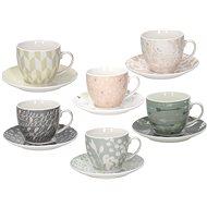 Tognana teáscsésze és csészealj szett 6 db 200ml IRIS ALICIA - Csésze + csészealj