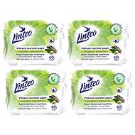 LINTEO Nedves WC-papír tölgyfakéreg gyógykivonattal (4 × 60 db) - WC papír