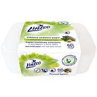 LINTEO nedves toalettpapír tölgyfa dobozban (60 db) - WC papír