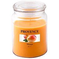 Provence Gyertya üvegben, fedéllel 510g, Mangó - Gyertya