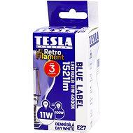 TESLA LED izzó FILAMENT RETRO, E27, 11W, nappali fehér