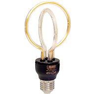 Tesla Design BULB filament E27, 5W, 230V, 250lm, 2300K, 360° lotus - LED izzó