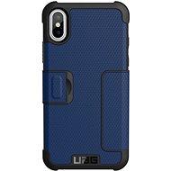 UAG Metropolis Case Cobalt Blue iPhone X/XS - Mobiltelefon hátlap