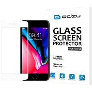 Odzu Glass Screen Protector E2E White iPhone 8/7 - Képernyővédő