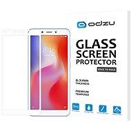 Odzu Glass Screen Protector E2E White Xiaomi Redmi 6 - Képernyővédő