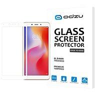 Odzu Glass Screen Protector E2E White Xiaomi Redmi 6A - Képernyővédő